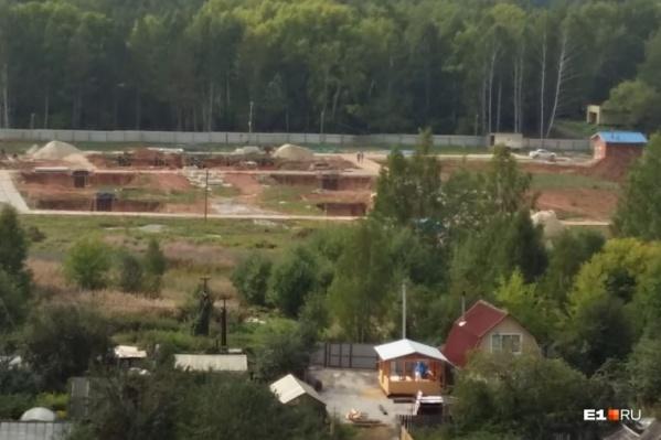 На этом месте собирались строить 236-метровую вышку