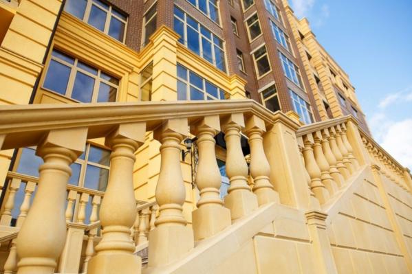 Квартира премиум-класса находится в клубном доме Life Plaza (Мельничная, 26, корпус 1)