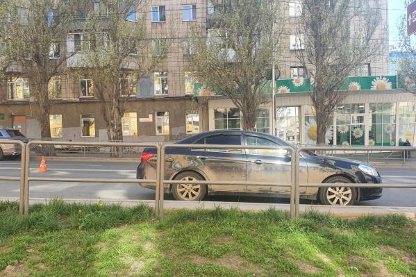 Это произошло на улице Полевой