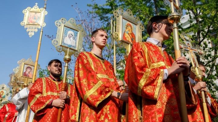 «Люди финансово истощились за это время»: в Волгоградской области прошёл крестный ход