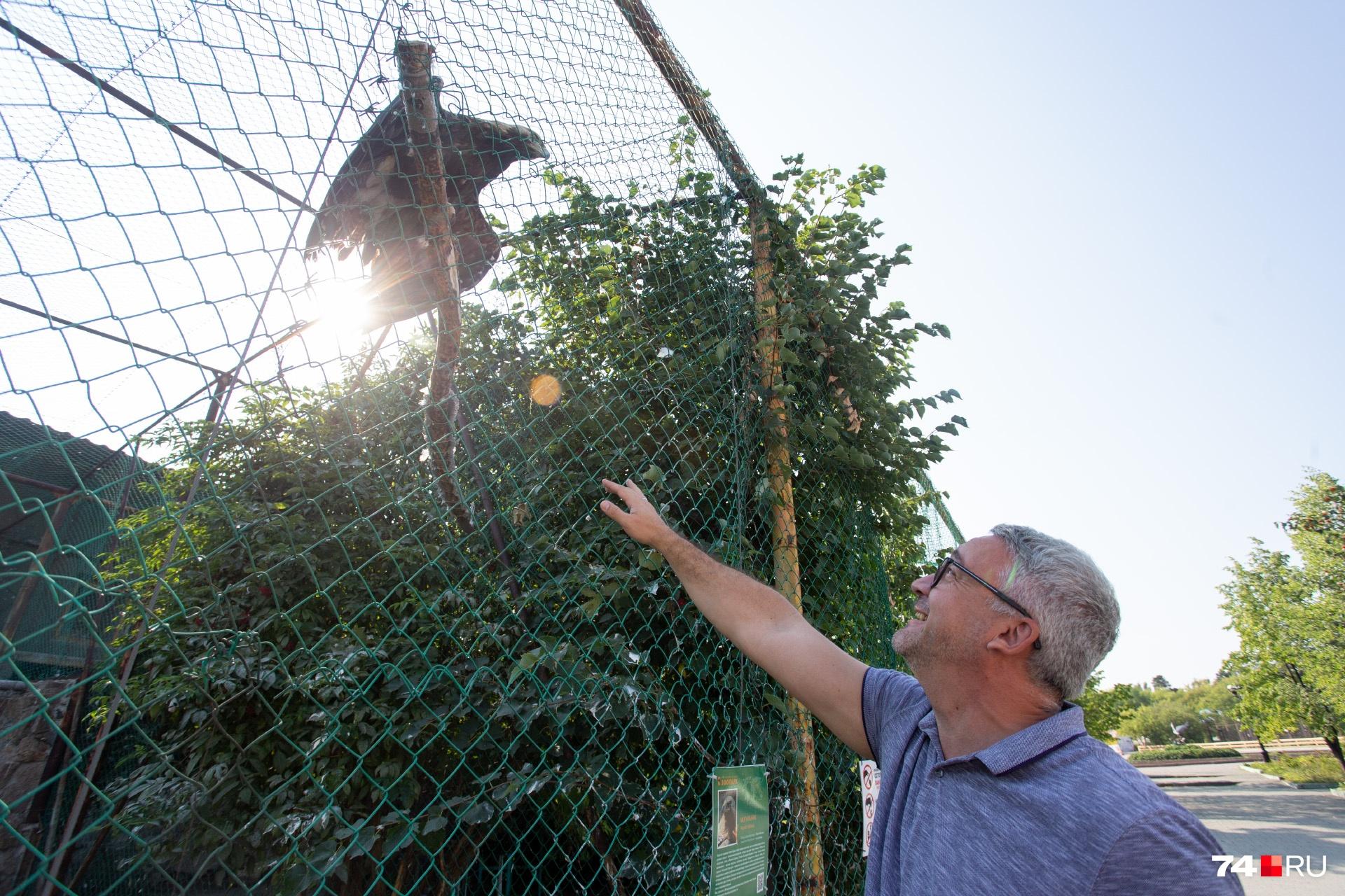 Идеи для развития зоопарка Юрий Леончик подсмотрел у зарубежных коллег