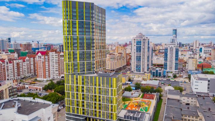 Стеклянная башня, 100-метровый кристалл, небоскрёб-панорама: какие дома стали хитами Екатеринбурга