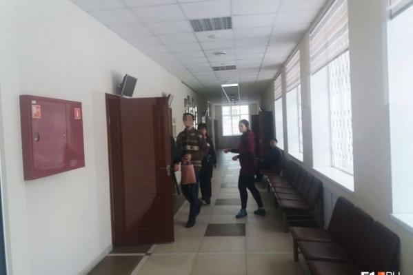Александр Калымов в Кировском районном суде Екатеринбурга