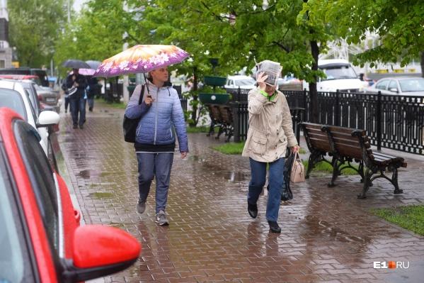 Завтра в Свердловской области ожидаются грозы и сильный ветер