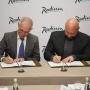 «Мы довольны сотрудничеством»: Владимир Кошелев посетил открытие Radisson Hotel Ulyanovsk
