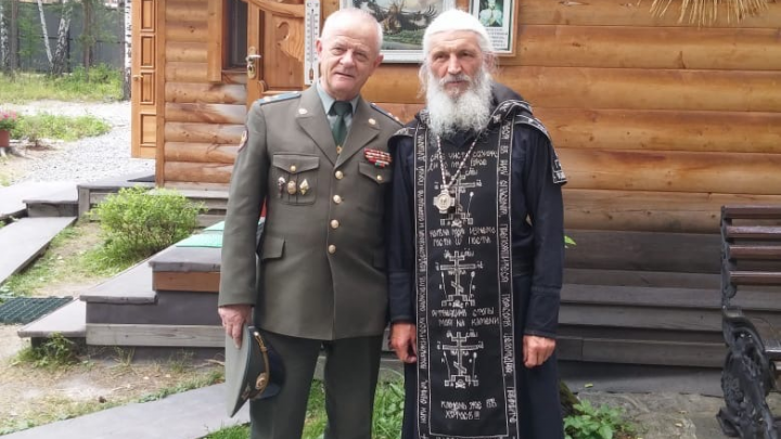 Бывший полковник ГРУ, которого судили за военный мятеж, приехал на Урал поддержать отца Сергия