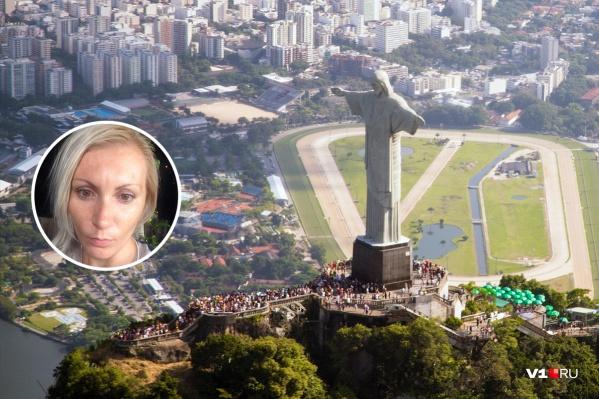 Уехав за здоровым климатом в Бразилию, Алевтина подхватила там вирус