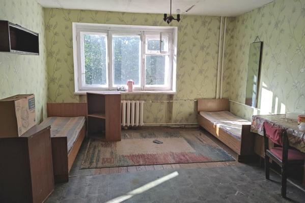 Типичная комната из маневренного фонда города