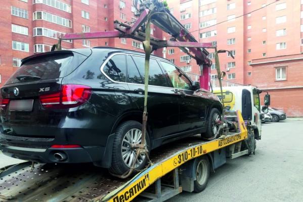 Екатеринбуржец лишился своего BMW, потому что не смог погасить банковский долг