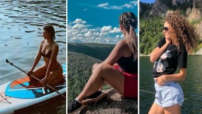 Жаркие выходные: красноярцы провожают последние летние дни в Сибири