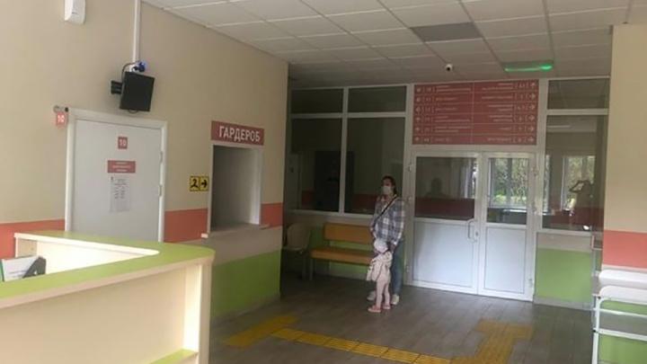 В Солнечном отремонтировали детскую поликлинику и разделили потоки больных и здоровых детей