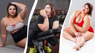 «Променяла размер S на гамбургер»: самарская модель plus size об издевательских диетах и мужчинах