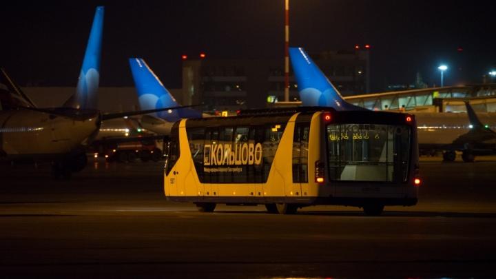В Кольцово приземлился самолет из Москвы, о минировании которого сообщали в полицию: онлайн-репортаж