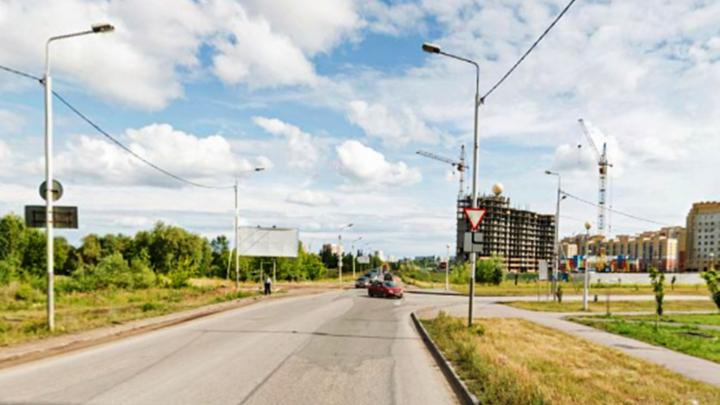 На перекрёстке Шаронова — Перелёта изменят схему движения из-за строительства новой дороги