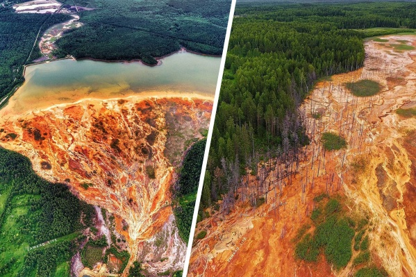 «Адская» панорама Лёвихинского рудника шокирует