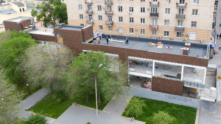 Прокуратура сделала первый шаг по признанию незаконным строительства фудкорта в центре Волгограда