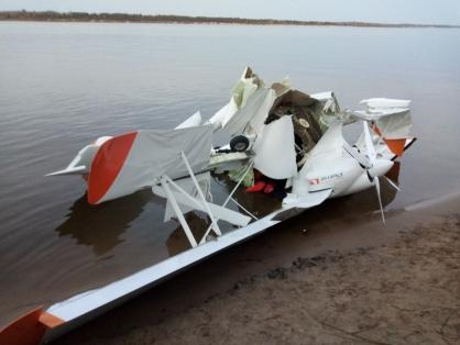 В самолете, разбившемся в Волге, погиб нижегородский бизнесмен