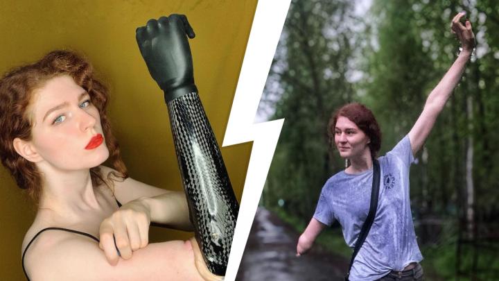 Красит ногти и завязывает шнурки: что еще умеет делать одной рукой киберкрасотка из Архангельска