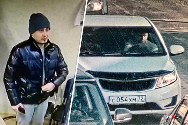Тюменцу пришлось самому ехать в Екатеринбург, чтобы искать угонщика. Но нашлись лишь эти записи с видеокамер