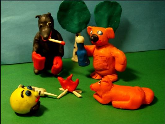 В Зауралье заключённые сняли мультфильм про пластилинового Колобка-наркомана