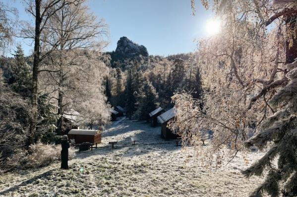 Первый снег уже выпал на Столбах