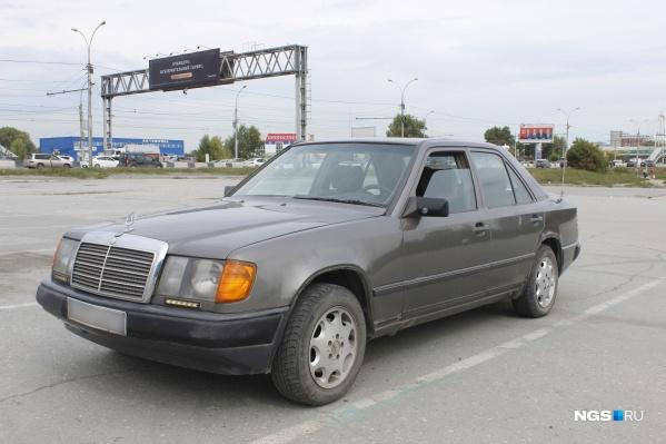 Так выглядит тот самый Mercedes-Benz 230Е