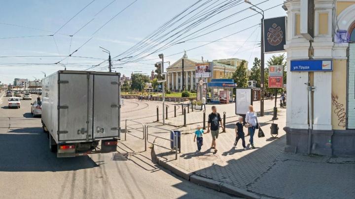 В центре Челябинска в мужчину выстрелили из травматического оружия
