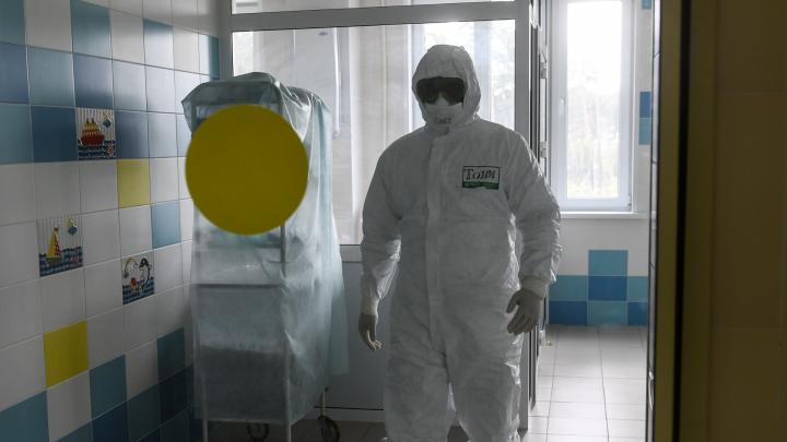 В Свердловской области за день резко выросло число больных коронавирусом на ИВЛ
