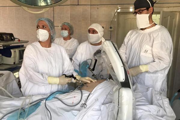 Операция прошла в клинике ЮУГМУ на Черкасской