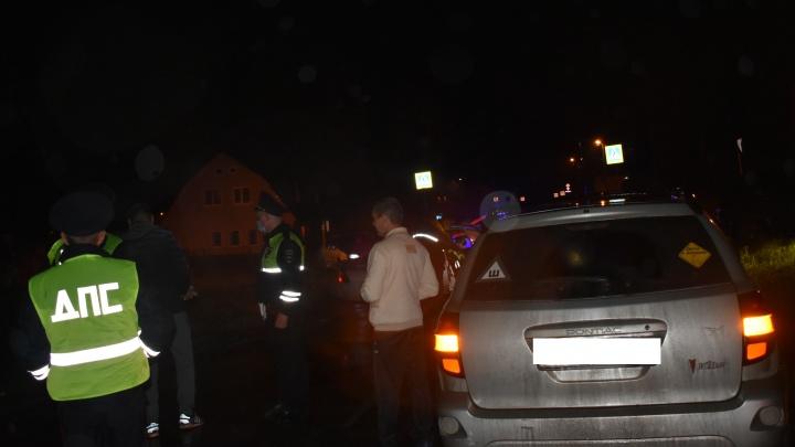 В Нижней Салде машина насмерть сбила пешехода, который сидел на дороге
