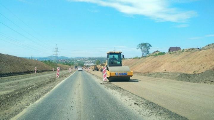 Участок дороги на Северном шоссе закрыли на полтора месяца