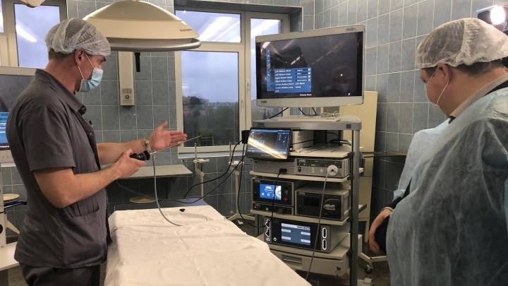 В областной детской больнице появились современные эндоскопические стойки за 30 млн рублей