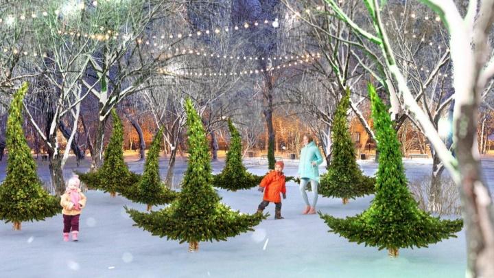 Елка с бантом, зимняя флора и «горящее сердце»: в Омске разработали новогодний туристический маршрут