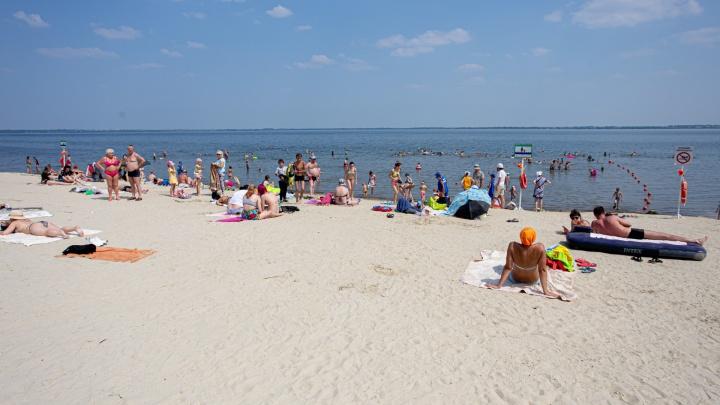На городских пляжах Челябинска сделают зоны для курения