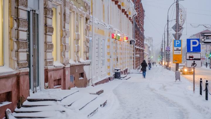 МЧС предупреждает о снегопаде и метели в Прикамье
