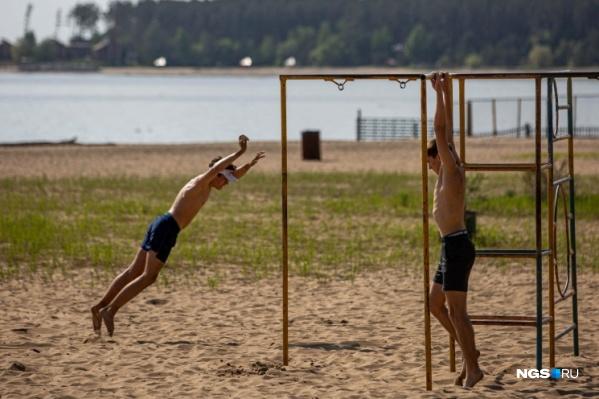 В пятницу в Новосибирске будет жарко