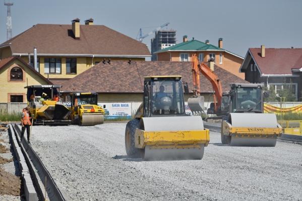 «Омскгоргазу» пришлось выносить газопровод из зоны строительства дороги
