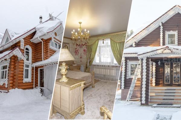 В посёлках под Новосибирском хватает поклонников русского деревянного зодчества