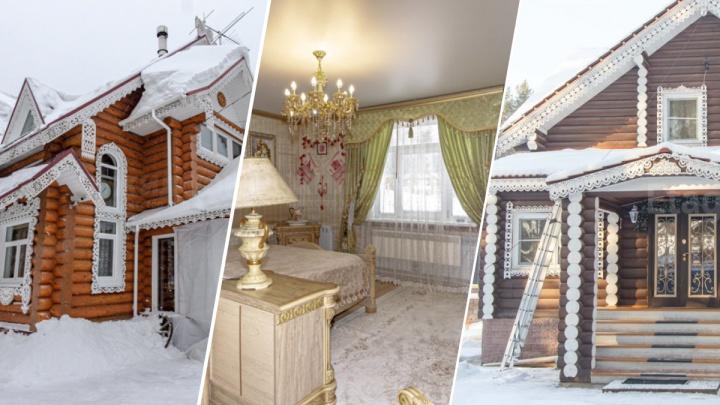 Сказочные терема. Заглядываем в избы и усадьбы в русском стиле — за одну из них просят 45 миллионов