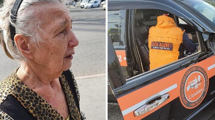 Тюменцы с помощью соцсетей помогли потерявшейся пенсионерке найти дом