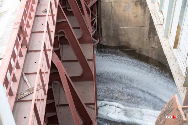 Жигулёвская ГЭС увеличит сброс воды