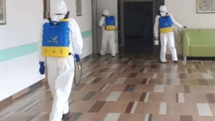 Роддом РКБ имени Куватова, где зафиксирована вспышка коронавируса, закрыли