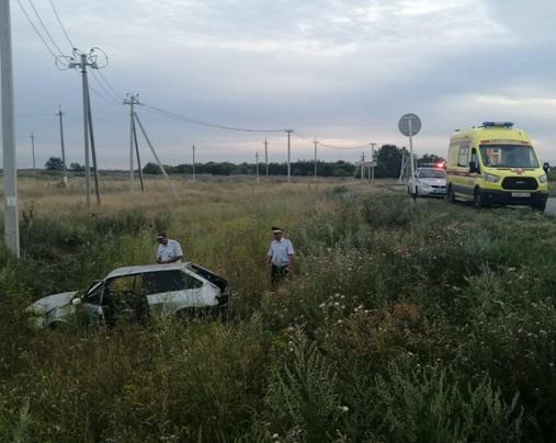Под Самарой водитель «восьмерки» погиб после выезда в кювет