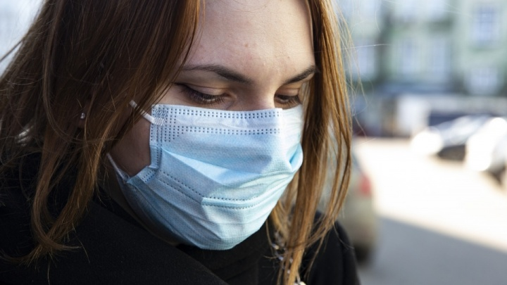Тюменку отвели в отдел полиции за отсутствие у нее маски в магазине