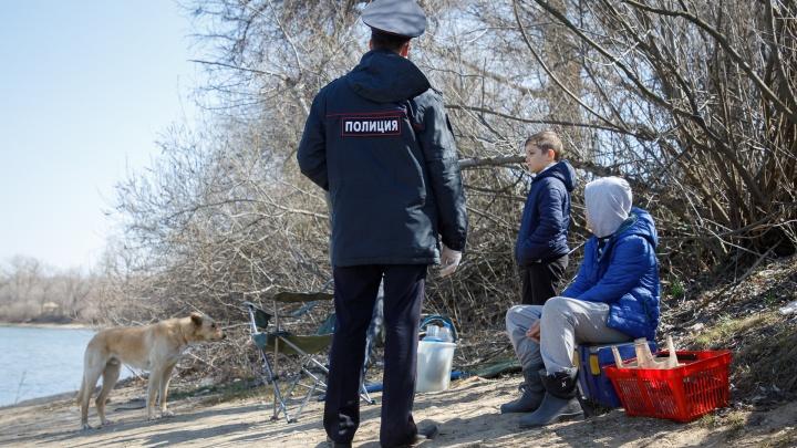 В Самарской области оштрафовали 80 нарушителей самоизоляции