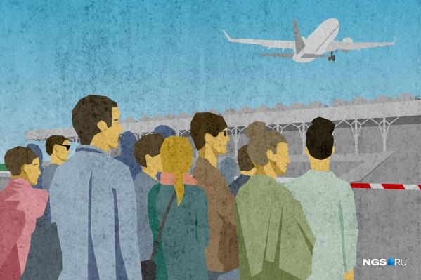 Сотни россиян ждут вылета из Киргизии, но все самолёты до сих пор улетали без них