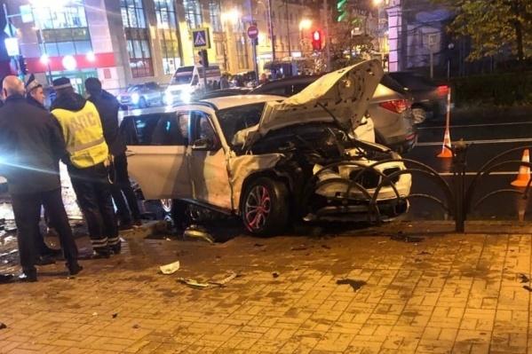 Водитель и два пассажира BMW пострадали. Среди них был ребенок 2014 года рождения