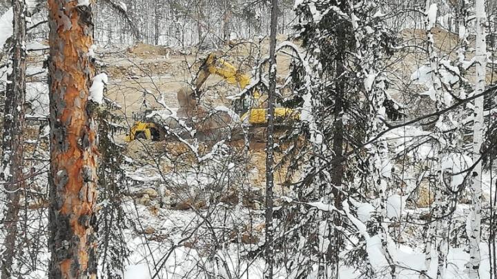 Силовики обнаружили незаконную добычу золота. Ущерб превысил 70 млн: видео