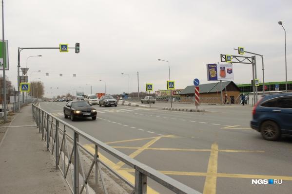 Так сегодня выглядит участок Кедровой от Краузе