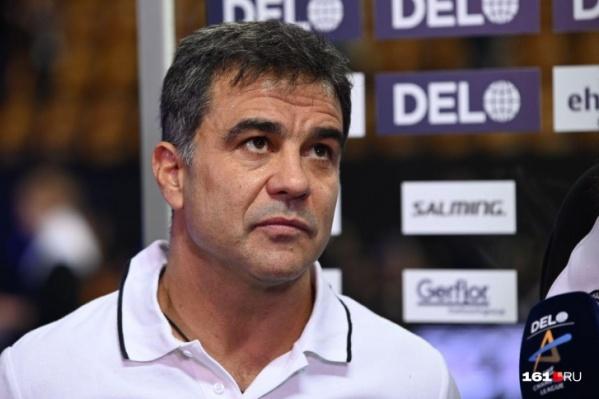 Амброс Мартин возглавил «Ростов-Дон» в июле 2018 года. Под его руководством команда впервые вышла в финал Лиги чемпионов